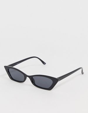 cat eye sunglasses with faded lens in tort - Grey tortoise A.J. Morgan 3SFH4