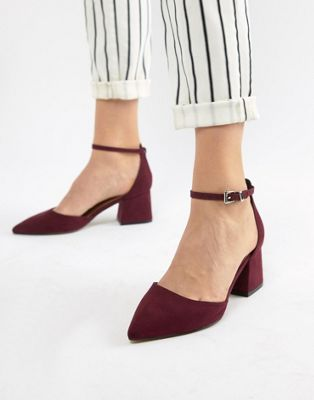 ASOS DESIGN Starling pointed heels