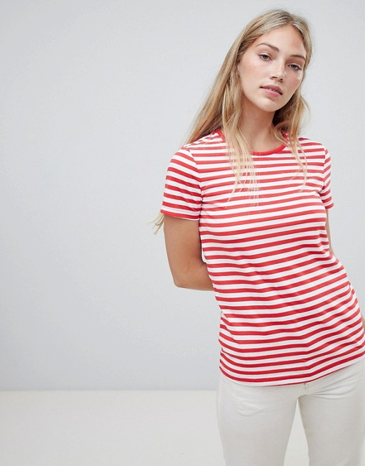 Image 1 of ASOS DESIGN Stripe Crew Neck