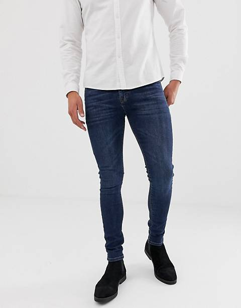 ASOS DESIGN super skinny jeans in dark wash