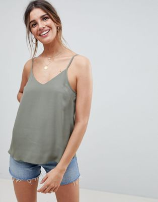 ASOS DESIGN swing cami with double layer