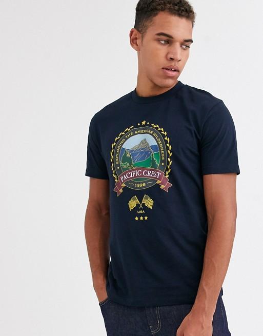 ASOS DESIGN – T-Shirt mit City-Print