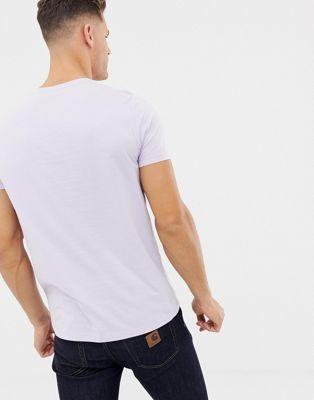 Bio Cou T Ras En De Asos Violet Tissu shirt Design vXxwqc1U8