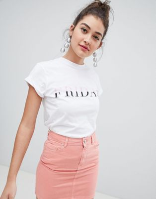 ASOS DESIGN t-shirt with Friday print
