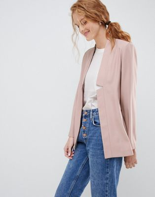 ASOS DESIGN tailored easy chuck on blazer