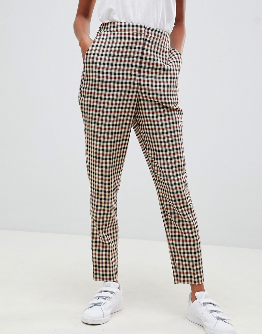 Asos Design – Tailored Heritage – Karierte, Schmale Hose by Asos