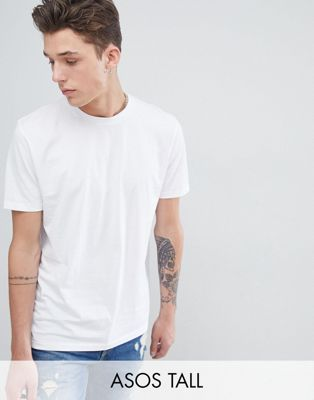 ASOS DESIGN Tall boxy fit t-shirt in white