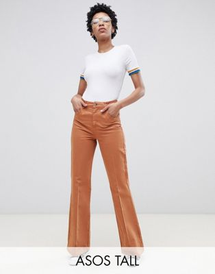 ASOS DESIGN Tall casual flare