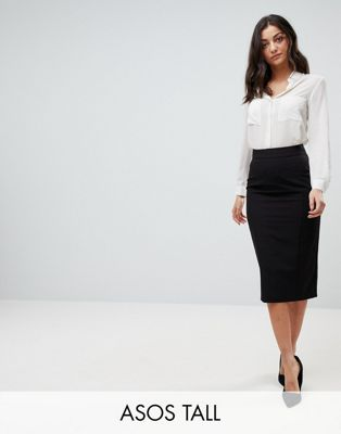 ASOS DESIGN Tall mix & match high waisted pencil skirt