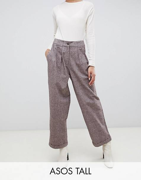 ASOS DESIGN Tall - Pantalon ballon texturé