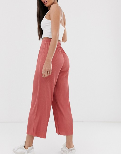 ASOS DESIGN Tall Pantalon plissé style jupe culotte