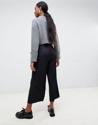 ASOS DESIGN Tall – Plissierter Hosenrock Damenbekleidung sNGMF