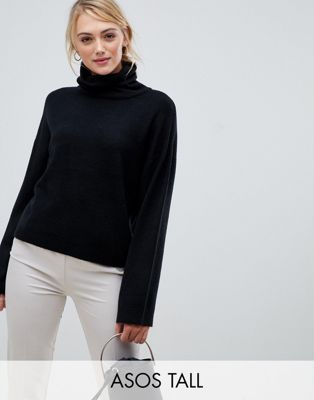 ASOS DESIGN Tall - Pull col roulé oversize