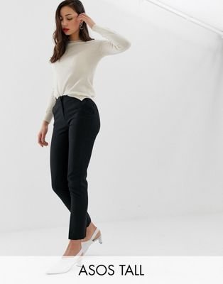 ASOS DESIGN Tall ultimate ankle grazer trousers