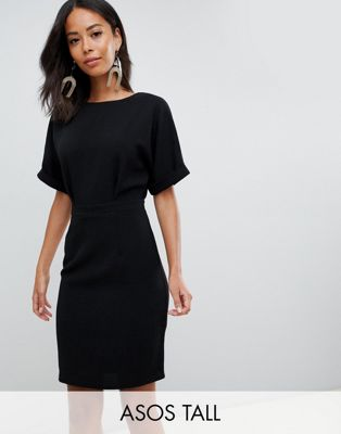 ASOS DESIGN Tall wiggle mini dress