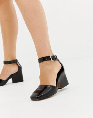 ASOS DESIGN Tanya casual heeled shoes