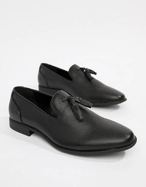 82fd88efd ASOS DESIGN tassel loafers in black