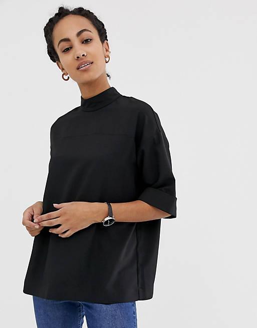 ASOS DESIGN - Top minimaliste oversize