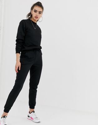 Image 1 of ASOS DESIGN tracksuit ultimate sweat / jogger with tie