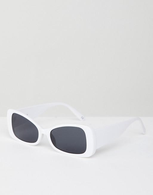 Afbeelding 1 van ASOS DESIGN - Uitlopende vierkante zonnebril