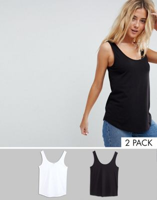 ASOS DESIGN Ultimate Tank 2 Pack Save 20%