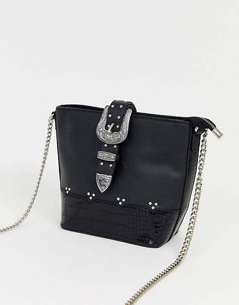 ASOS DESIGN western bucket bag