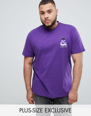 ASOS DESIGN X glaad& Spirit Day plus t-shirt