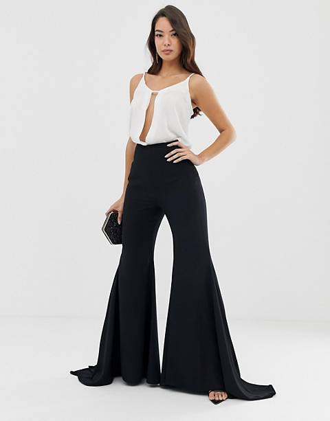 ASOS EDITION extreme flare pants