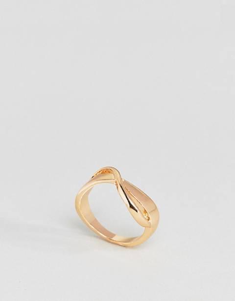 ASOS – Eleganter Ring mit verdrehtem Wellendesign