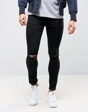 Men's Extreme Super Skinny Jeans | Spray On Jeans | ASOS