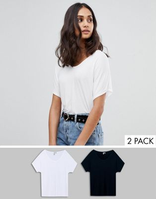 ASOS Forever T-Shirt 2 Pack Save 10%