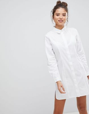 ASOS FULLER BUST Cotton Shirt Dress