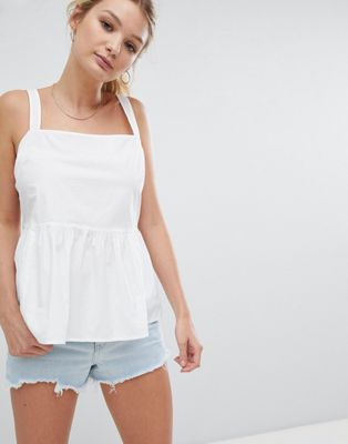 ASOS Fuller Bust Smock Cami in Cotton