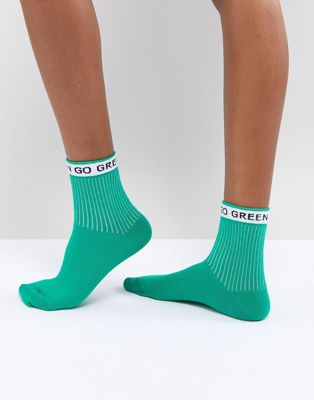ASOS Go Green Ankle Socks