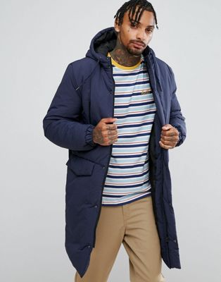 ASOS Heavyweight Parka in Navy