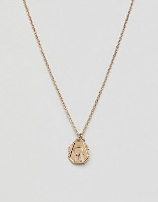 ASOS Icon Charm Cluster Necklace