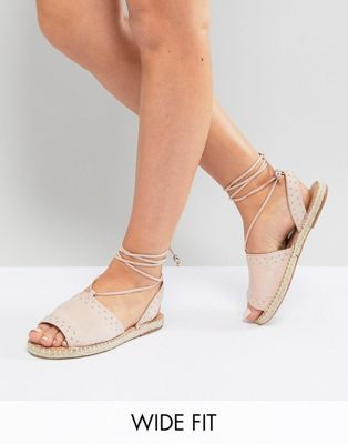ASOS JASIA Wide Fit Espadrille Sandals