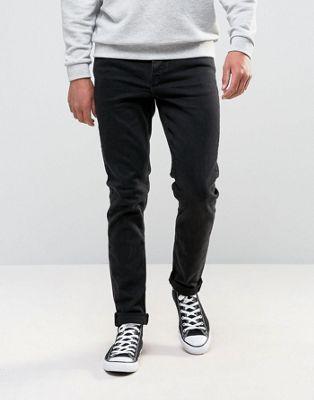 ASOS - Jean skinny 12,5 oz - Noir pur