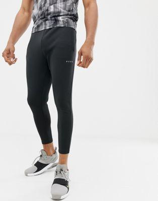 ASOS - Joggers super skinny da allenamento in tessuto Quick Dry nero