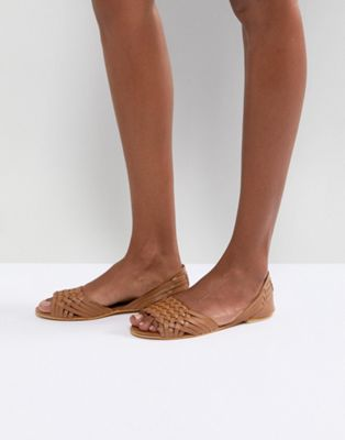 ASOS JUNA Leather Summer Shoes