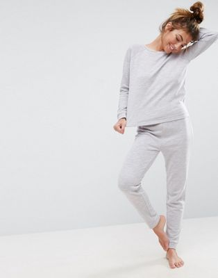ASOS LOUNGE Sweat & Jogger Set