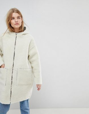 ASOS Made In Kenya Reversible Teddy Fur Parka