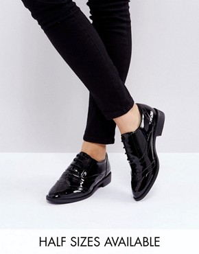 Oxford Shoe Women With Cat