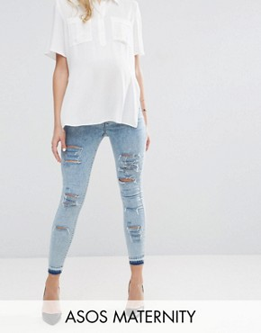 Womens Ripped Jeans | Destroyed & Busted Knee Jeans | ASOS