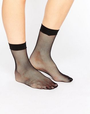 ASOS Micronet Fishnet Ankle Socks