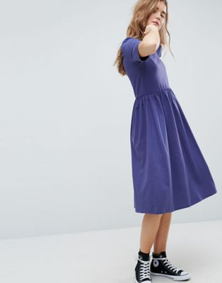 ASOS Midi Ultimate Cotton Smock Dress