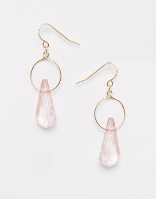 ASOS - Mini pendants d'oreilles en quartz