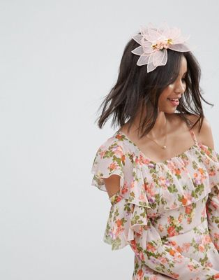 ASOS Occasion Floral Bloom Facinator Headband