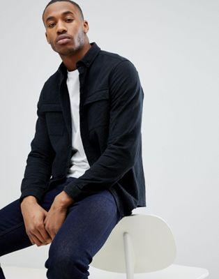 ASOS Overshirt With Double Pockets