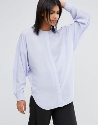 Image 1 of ASOS Oversized Batwing Blouse